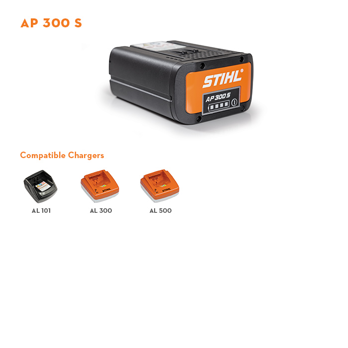 Photo of AP 300 S Lithium-Ion Battery
