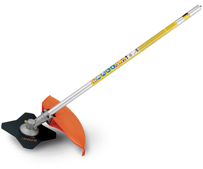 FS-KM Brushcutter with 4 Tooth Grass Blade